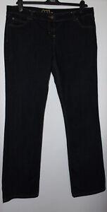 Dorothy Perkins Dark Blue Denim Jeans Size 16