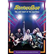 STATUS QUO THE LAST NIGHT OF THE ELECTRICS DVD ALL REGIONS NTSC NEW