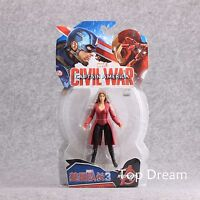 "The Avengers Civil War Captain America 3 Scarlet Witch Action Figure 7"" Toy Gift"
