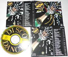 DISCO DANCE '80 - Village People/Nathalie/Fake/Moby Dick... - CD..