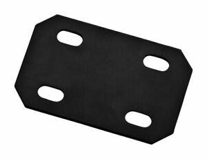 National Hardware  Mending Plate  4-11/16 x 3 x 1/8  Steel-Black Finish