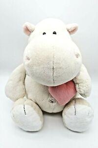 Nici Love Nilpferd mit Herz 33 cm Plüsch Kuscheltier Stofftier | Top Zustand