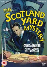 The Scotland Yard Mystery NEW PAL Classic DVD Thomas Bentley Gerald du Maurier
