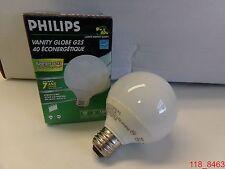 Philips Energy Saver 40 Vanity Globe G25 9W = 40W