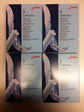 ORIGINAL  JURA Claris Blue Filter 71312  4 x 3 er SET  12 Filter