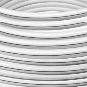 10 m Lautsprecherkabel Weiß 2x4,0mm² High End OFC Kupfer Made in Germany