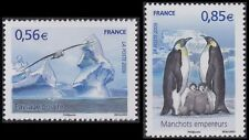 2009 FRANCE N°4350/4351** Protection des Pôles, Manchots, Penguins MNH