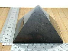 Pyamide 63 mm en SHUNGITE de Russie 140,7 g - onde electomagnetique magnetisme