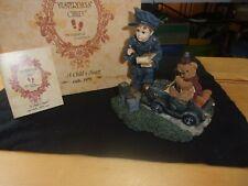 "Boyds Dollstone Yesterdays Child ""The Speed Trap"" # 3524 police"
