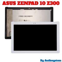 GLS DISPLAY+ TOUCH SCREEN PER ASUS ZENPAD 10 Z300CG Z300C BIANCO P021 P023 VETRO