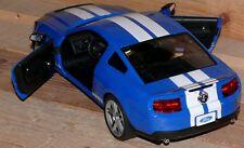 FORD GT500 1:14 RC FB 27 MHz Kids Kinder Renn Sport auto Fahrzeug ID>2170 Blau