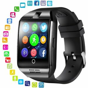 Smart Watch Reloj Inteligente con Cámara y Bluetooth compatible  Android y Apple