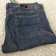 Quicksilver Roxy Denin Jeans   New Women Cotton 8 with Tags Blue Red Stitching