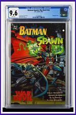 Batman-Spawn War Devil #nn CGC Graded 9.6 DC 1994 Wraparound Cover Comic Book.