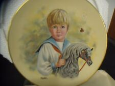 Little Men Come Ride With Me The Royal Collection Collector'S Plate