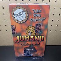 1995 SkyBox Jumanji Trading Cards Factory Sealed Box - 36 packs