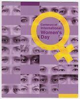 2011 STAMP PACK 'INTERNATIONAL WOMENS DAY CENTENARY' INC MINI SHEET 10 x 60c MNH