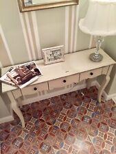 Beautiful Provence Style Range Slim Hallway Chic Console Table