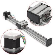 400mm Actuador Tornillo Husillo Bola CNC Lineal Deslizamient Guía Con Motor Paso