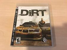 BRAND NEW, FACTORY SEALED Dirt (Sony Playstation 3, 2007) PS3