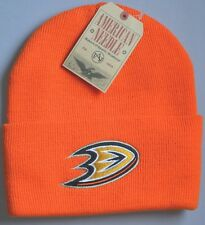 NHL Anaheim Mighty Ducks Beanie Hat-orange