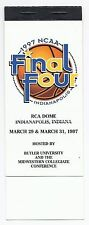 1997 Final Four Ticket Booklet