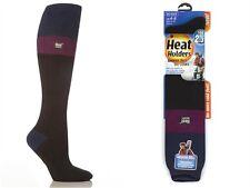 6 Pairs Ladies Genuine Thermal Winter Warm Heat Holders Socks Size 4 - 8 UK Red