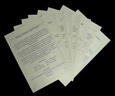 Witches AIR EARTH FIRE WATER Elemental Posters Wicca Pagan Ritual Spells Altar