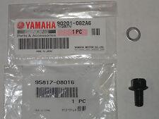 Oil Tank Drain Plug Bolt Washer OEM Genuine Yamaha YFZ450 YFZ 450 04-09