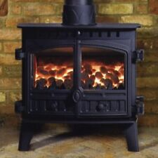 Hunter Herald 8 Central Heating Stove New Double Multi Fuel Wood Burning Fire