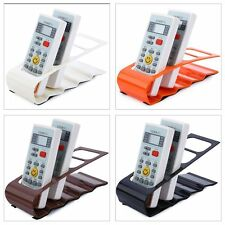 NEW REMOTE CONTROL ORGANISER STAND TIDY CADDY STORAGE HOLDER UP TO 4 REMOTES