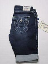 True Religion Women Knee Length Flap Big T Short Size 26 ($304) Sale!!!