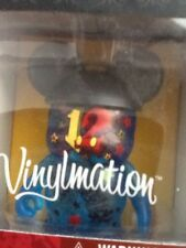 "Disney 2012 Vinylmation 3""  NIB CLEAR BLUE FIGURE WITH BLACK MICKEY EARS"