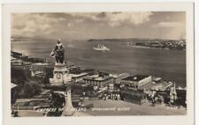 Steamship Empress Of Scotland Approaching Quebec Canada RPPC Postcard US082