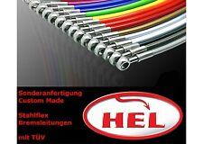 HEL Stahlflex Bremsleitungen nach Maß bis 2000mm Sonderanfertigung mit Gutachten