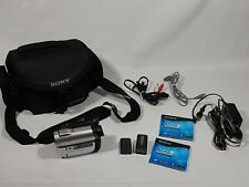 Sony Handycam Carl Zeiss Zoom DCR-DVD610 2 Batteries/Charger/Case Tested