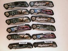 WHOLESALE LOT 12, WILDLIFE POCKET KNIVES, Special Deal, Limited, FREE SHIPPING