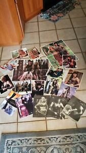 Lot Of Assorted Items; Xena Items 2 posters lots of 8 x10's, calenders