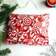 Candy Cane Poly Mailers Envelopes Shipping Bags Packaging 10x13 Christmas