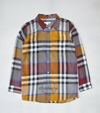 $280 Authentic BNWOT BURBERRY Children Kids Boys/Girls Check Shirt/Top 14 Years