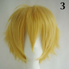 Women Men New Fashion Cosplay Short Full Wig Heat Resistant Anime Party Wigs