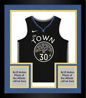 Frmd Stephen CurryGolden State WarriorsSigned Gray 2019-20 The Town Jersey
