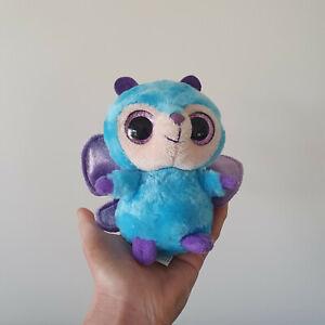 Like New Yoo Hoo & Friends 12cm Plush Wispee Blue Butterfly like TY Beanie Boo