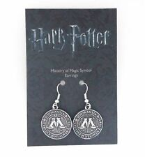 of Magic Drop Earrings Brand New Harry Potter Official Silver Plated Ministry