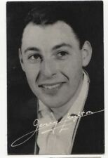 Singer Jerry Leighton Vintage Publicity Card 808b