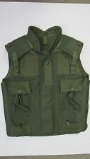 Canadian Army 1990s Green OD Fragmentation Flak Vest Size Large Long Unissued
