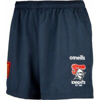 NRL 2020 Training Shorts - Newcastle Knights - Mens - Gym - Pockets