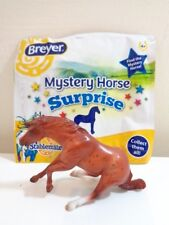 Breyer Stablemates Chestnut Reining Horse Toy Model New Opened Mystery Pack