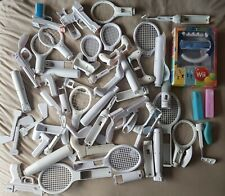 Large Joblot of Nintendo Wii Remote Sports Accessories Tennis Golf Racing