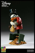 Disney Grand Jester Bust Scrooge McDuck Limited Edition 1500 NIB Sideshow Bust